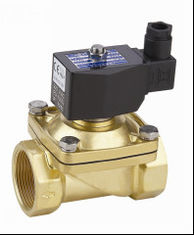 Electric Air Solenoid Valve , Air Actuated Solenoid Valve Normally Closed 2 Inch